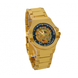 Shadow hollow Mechanical Stainless Steel Watch For Men, 2032