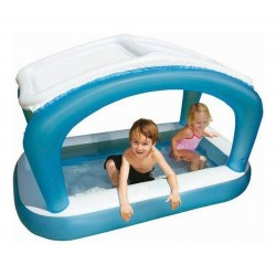 Intex Fishbowl Paddling Pool Planschbecken aufblasbarer Boden, 57423