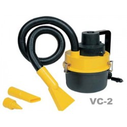 Premier Wet & Dry Car Vacuum Cleaner Cum Air Inflator With LED Light  , VC108