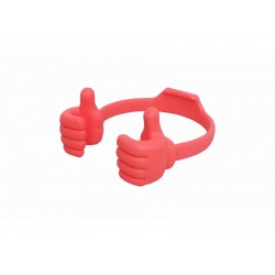 Silicone Thumb OK Design Stand Holder For Mobile Phones & Tablets