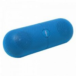 Bison Wireless Pill XL Shaped Speaker With Micro SD, FM & Aux Support