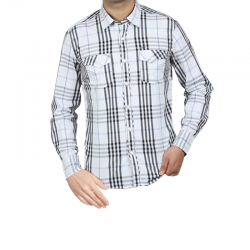 Running Day Casual Long Sleeve Cotton Shirt For Men, SH003