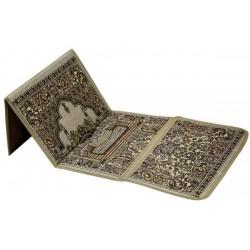 Luxury Backrest Folding Padded Islamic Prayer Mat , Chair Prayer Mat, PC214