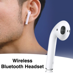 Vovg Wireless Bluetooth Headset, White
