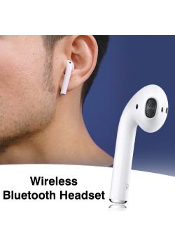 Vovg Wireless Bluetooth Headset, White