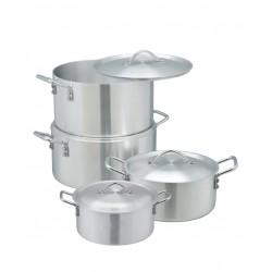 Myco Metal Finish Cook Ware 4 Pcs Set, M253