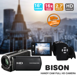 Bison HD70 Handy Cam Full HD Camera