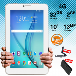 CCIT T2, SIM Tablet, 10 inch, Android 6.0,  4G, 32GB, 2GB, WiFi, Dual Core, Dual Camera, Gold