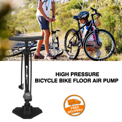High Pressure Bicycle Bike Floor Air Pump, G073