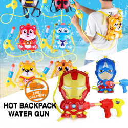 Hot Backpack Water Gun Large Children's Water Gun Toy, G065