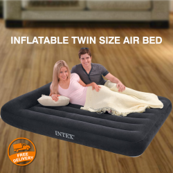 Intex Classic Downy Inflatable Twin Size Air Bed, 68758NP