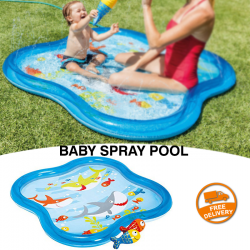Intex Square Baby Spray Pool Toy, 57126NP