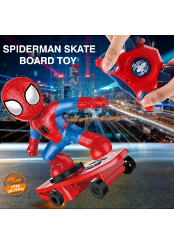 Marvel Spiderman Childrens Mini Skate Board Toy New, MS229