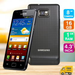 Samsung Galaxy S2 I9100R, Black