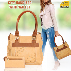 City Fashion Candy Hand bag With Wallet For Women, CY528