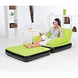 Bestway Inflatable 2 In1 Air Bed Mattress Chair Lounge Sofa, With Pumb, 67277