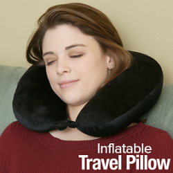 Intex Inflatable Travel Pillow.33cm x 25cm x 8cm, 68675