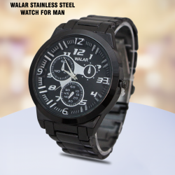 Walar Stainless Steel Watch For Man,AM82