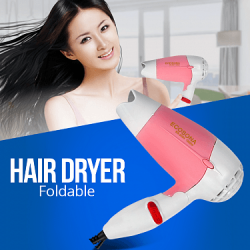 Ecosona Foldable Mini Hair Dryer 1000 Watts, ES2004