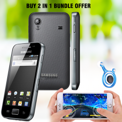 Buy 2 In 1 Bundle Offer Samsung Galaxy Ace S5830i,Mobile Joystick Dual Analog Smartphone Gaming, SM865