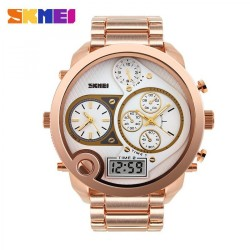 Skmei Casio Man Sport Led Watch Water Resistant Rose Gold, Ad1170