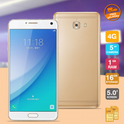 "M-Horse Smart phone CT1 ,4GLTE Dual Sim, Dual Cam, 5"" IPS,Gold"